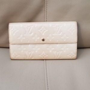 Louis Vuitton Sarah Portefeuille Vernis Wallet